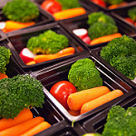 Pre-portioned vegetables